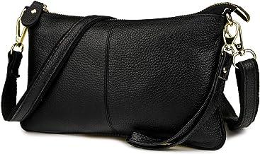 Black Genuine Leather Bag TLB36 Genuine Leather Bag Lace Black Bag by Teyxo