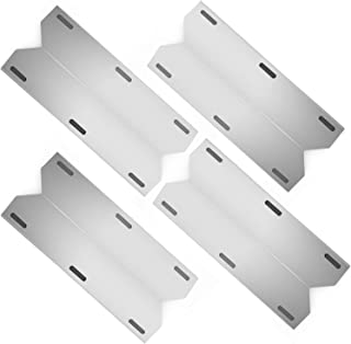 Hongso SPA231 (4-Pack) Stainless Steel BBQ Gas Grill Heat Plate, Heat Shield, Heat Tent, Burner Cover, Vaporizor Bar, and Flavorizer Bar for Costco Kirland, Jenn-air, Nexgrill, Lowes (17 3/4