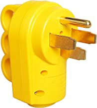 PowerGrip Replacement Plug- Transform Your RV Plug Into a Safe and Durable PoweGrip Cord 50 AMP (50A Male)