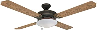 Hardware House 13-4224 Jamaica Classic Bronze 52-Inch Wet/Dry Ceiling Fan
