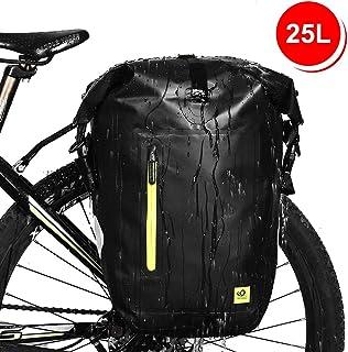 f1e34060203 WATERFLY 25L Fahrradtasche Gepäckträger Tasche wasserdichte  Gepäckträgertasche Fahrrad Hinterradtasche