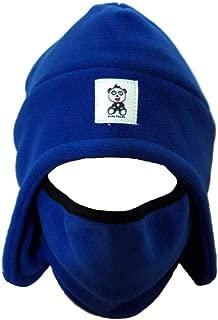 Men's Fleece 2-in-1 Headwear Winter Hat Face Mask Ski Mask