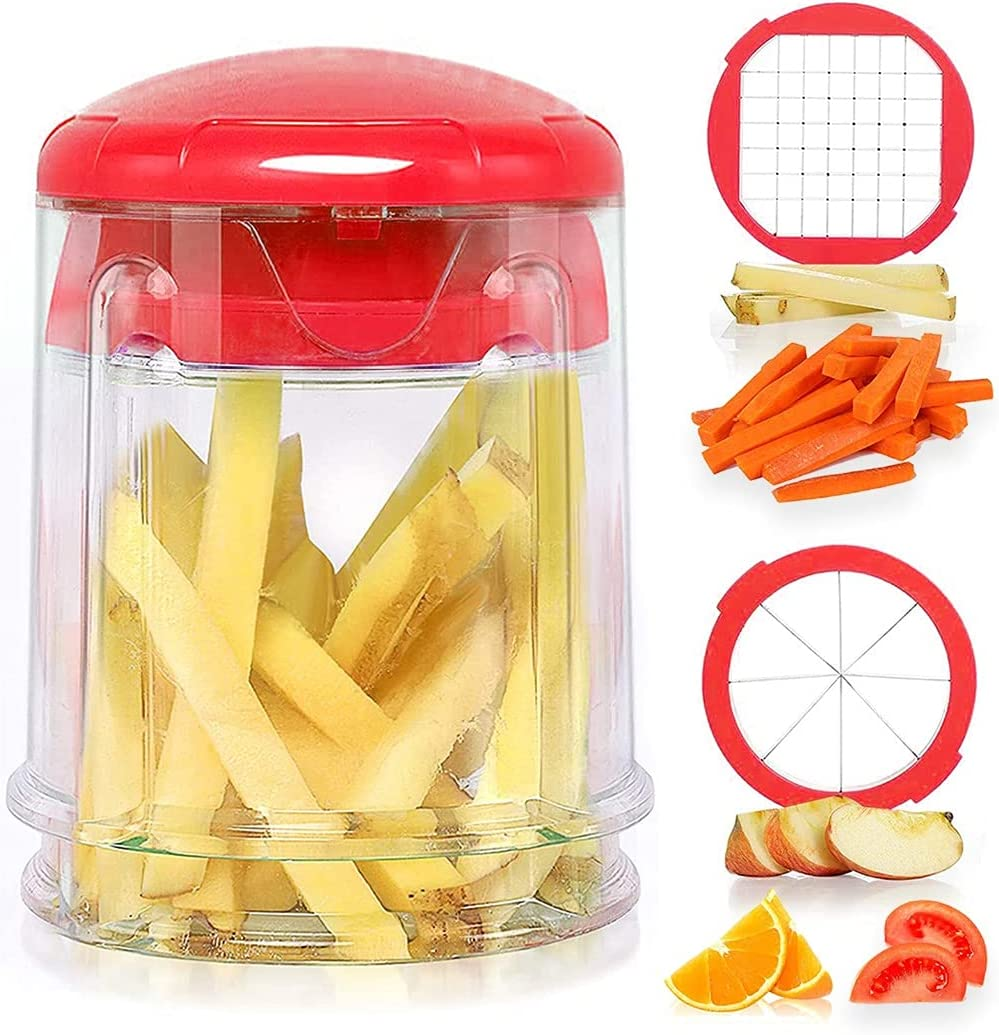 Sale special price Save money Festtee Manual French Fries Cutter Chips Slicer Potato Perfect