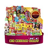 """10. Mexican Candy Mix Assortment of (90 Count) """"La Dulceria Mexicana"""" Premium Candies of Spicy, Sour & Sweet; Includes Lucas Candy, Pulparindo, Pelon, Rebandita, by Look-On"""