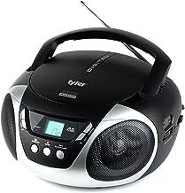 Tyler TAU101-SL Portable Sport Stereo CD Player – Single Disc, Speakers, AM/FM..