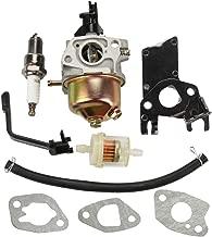 Panari Carburetor + Fuel Filter for Champion Power Equipment 3000 3500 4000 Watt 196cc 4-Stroke OHV Engine Gas Powered Portable Generator