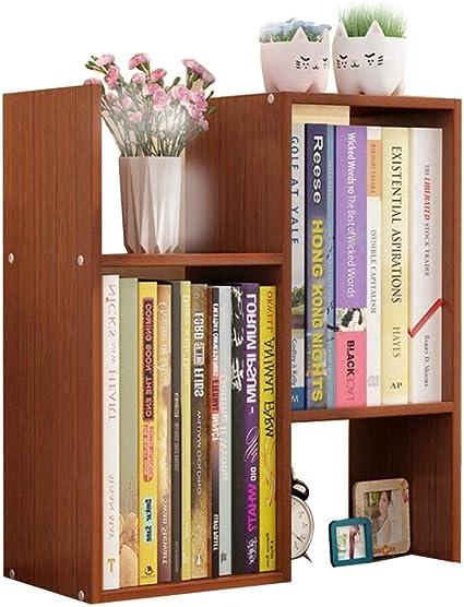 estante para libros Estantería pequeña estante de mesa simple ...
