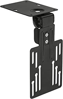 Mount-It! Under Cabinet Flip Down TV Mount   Ceiling TV Mount for 13 to 23 Inch Flat Screens   Folding TV or Monitor Mount...