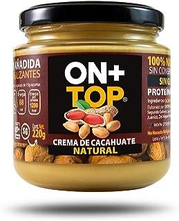 ONTOP CREMA DE CACAHUATE NATURAL 220g. 100% NATURAL 100%