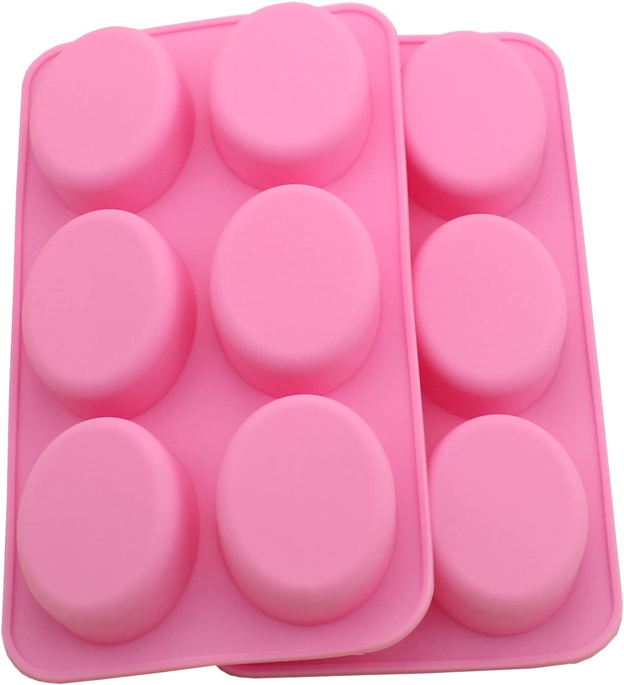 WARMBUY Oval Silicone National products Mold for DIY Pour Melt Homemade Direct store Soap and