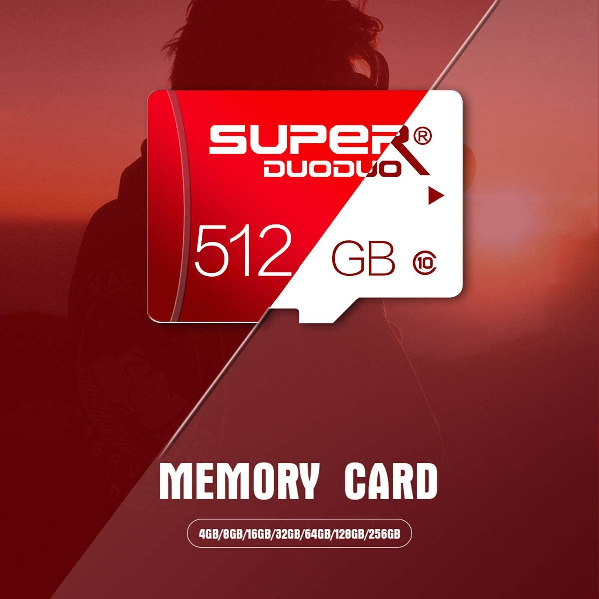 Micro SD Card 512gb,Micro Memory Card Class 10 High Speed Memory Card with SD Card Adapter for Camera, Phone, Computer,Dash Came,Tachograph,Tablet,Drone(512gb)