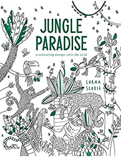 Jungle Paradise: A coloring adventure into the wild