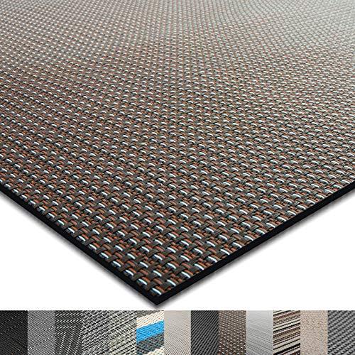 casa pura® Indoor- und Outdoor-Bodenbelag Modena | kunstvoll gewebter Terrassenteppich | als Outdoor Teppich Meterware oder Läufer für innen | 40 Größen (60x100cm)