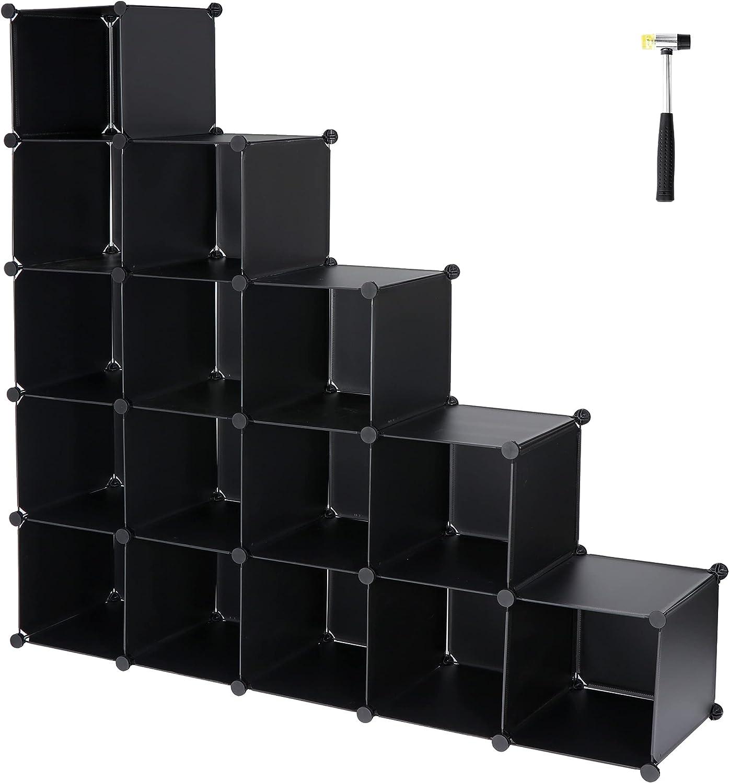 SUPER DEAL 16 Cube Closet Modular Storage Organizer Translated Large discharge sale
