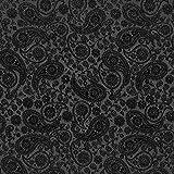 Fabulous Fabrics Futterstoff schwarz, 145cm breit – zum