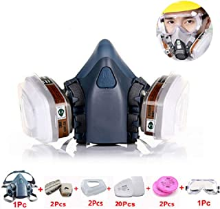 JJGL Industrial Gas Mask Spray Paint Chemical Protect For Decoration Dustproof Pesticide Protection