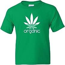 Organic Leaf Kelly Green T Shirt