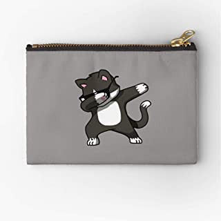Pouch Dabbing Funny Cat Hop Zipper Hip KittenZipper Accessories Pencil Cosmetic Makeup Office Supplies and Travel Pouch
