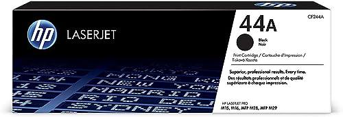 HP 44A CF244A Toner Noir Authentique pour HP LaserJet Pro M15 / M28