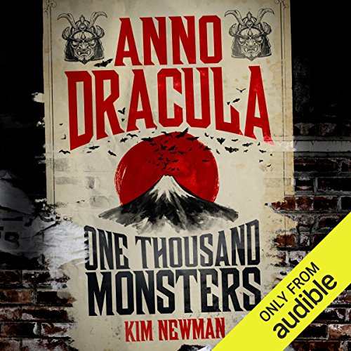 Anno Dracula: One Thousand Monsters audiobook cover art