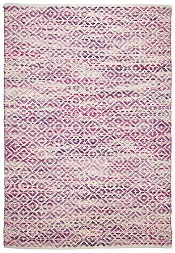 Tom Tailor Teppich Smooth Comfort, diamond, pink 190cm x 290cm rosa/pink