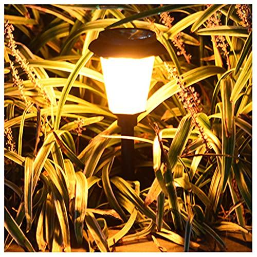 ZHMIAO Lámpara solar de llama, resistente al agua, bailar llamas titilantes, decoración de paisaje, iluminación de coche, encendido y apagado solar para