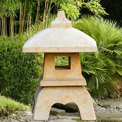 Jardín Japonés de ensueño piedra lámpara – haruto: Amazon.es: Jardín