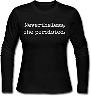nevertheless she persisted long sleeve shirt
