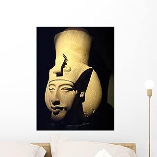 Statue Pharaoh Akhenaten Also Wall Mural by Wallmonkeys Peel and Stick Graphic (24 in H x 18 in W) WM53975