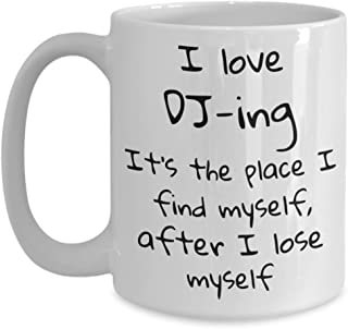 Coffee mug, Hobbies, DJ, Coworker gifts, Gifts for her, Mugs with sayings, Gifts for him, Quotes, Espresso cups, Desk Acce...