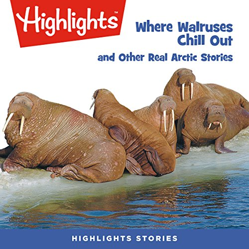 Where Walruses Chill Out and Other Real Arctic Stories copertina