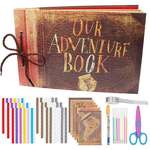 L'album scrapbook Notre livre d'aventure