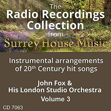 John Fox & His Orchestra, Vol. 3