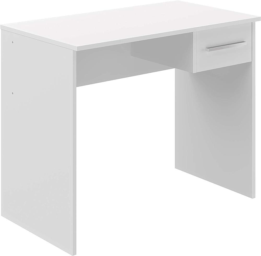 Movian marchio amazon,scrivania con cassetto singolo in stile moderno,in legno T80515MM01LVO