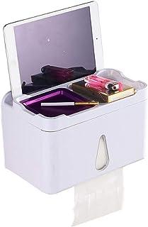 COMLIFE Caja de Pañuelos Multifuncional Impermeable, Los accesorios de Baño Portarrollo para Papel para Baño y Cocina, Caj...