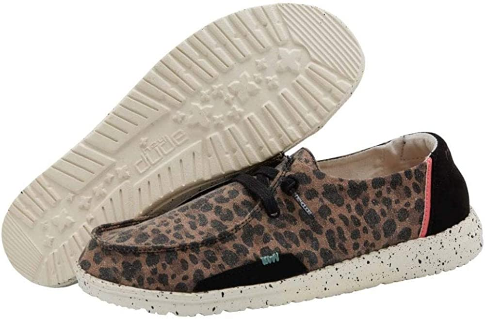 Hey Dude Womens Wendy Jungle Brown Size