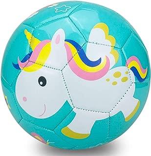 Champhox Kids Soccer Ball with Pump,  Children Sports Ball Cartoon Design Toddlers Recreative Indoor Outdoor Ball for Kids,  Toddlers,  Girls,  Boys,  Children,  School