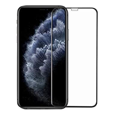 Amazon Brand - Solimo Full Body Tempered Glass for Apple iPhone 12 Pro Max , with Installation kit