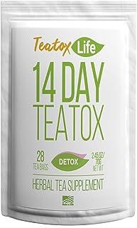 Skinny Mint Teatox Detox Tea| Dandelion Root Tea with Ginger, Red Clover, Senna for Weight Loss (Women & Men)|Organic 14 /...
