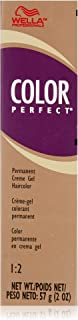 Wella Color Perfect Permanent Creme Gel Haircolor 4n Medium Brown for Women, 2 Ounce