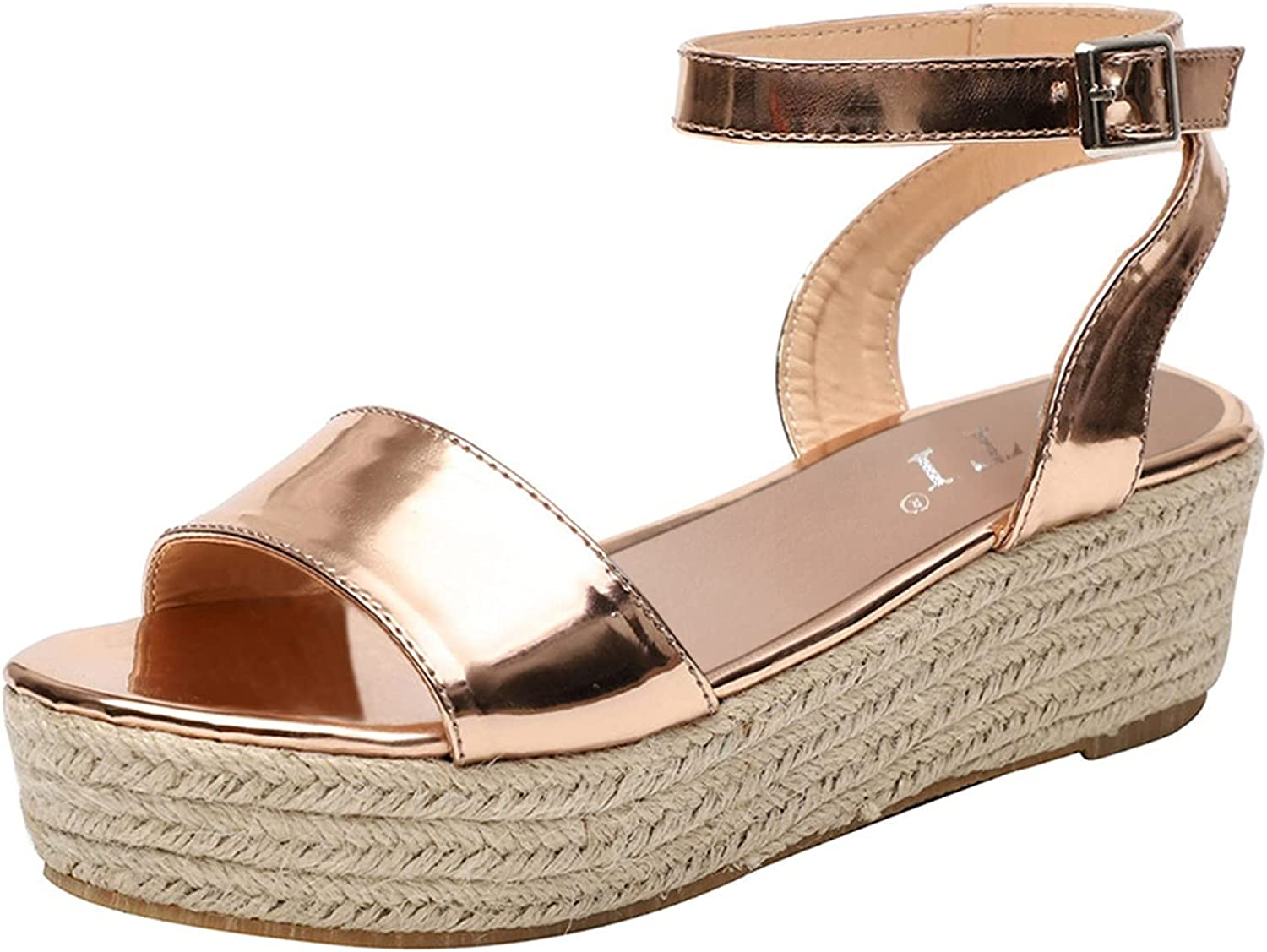 Mesa Mall Gyouanime Womens Summer Shoes Cheap bargain Wedge P Weaved Comfortable Sandals