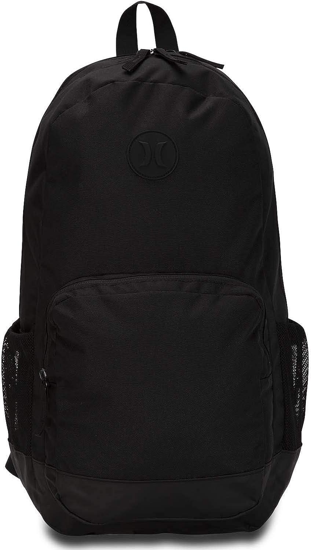 Hurley Renegade II Solid Backpack, Black, One Size