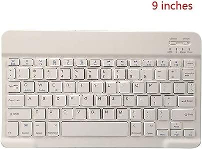 Arichtop 9-Zoll Tragbarer Mini drahtlose Bluetooth 3 0 Tastatur Tablet Laptop Smartphone Universal-Tastatur Schätzpreis : 8,57 €