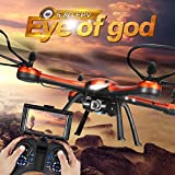 kingtoys JJRC H11d 5.8G Fpv RC Drone con 2.0MP HD Fotocamera 2.4G 4ch 6axis Headless modalità RC Quadcopter Hexacopter arancioni
