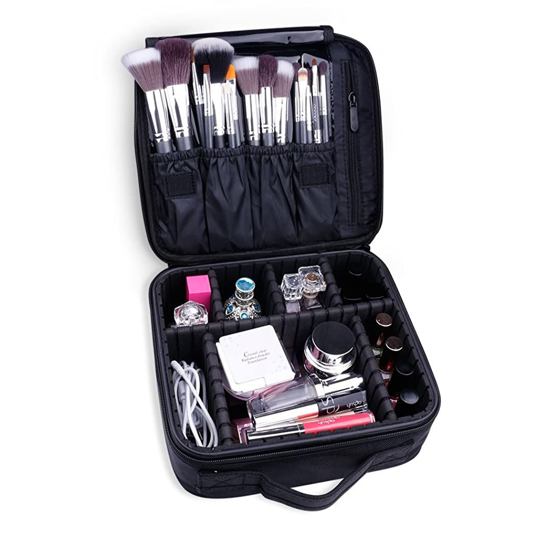 Docolor ドゥカラー 化粧ポーチ 高品質 多容量 化粧バッグ 多機能収納ケース