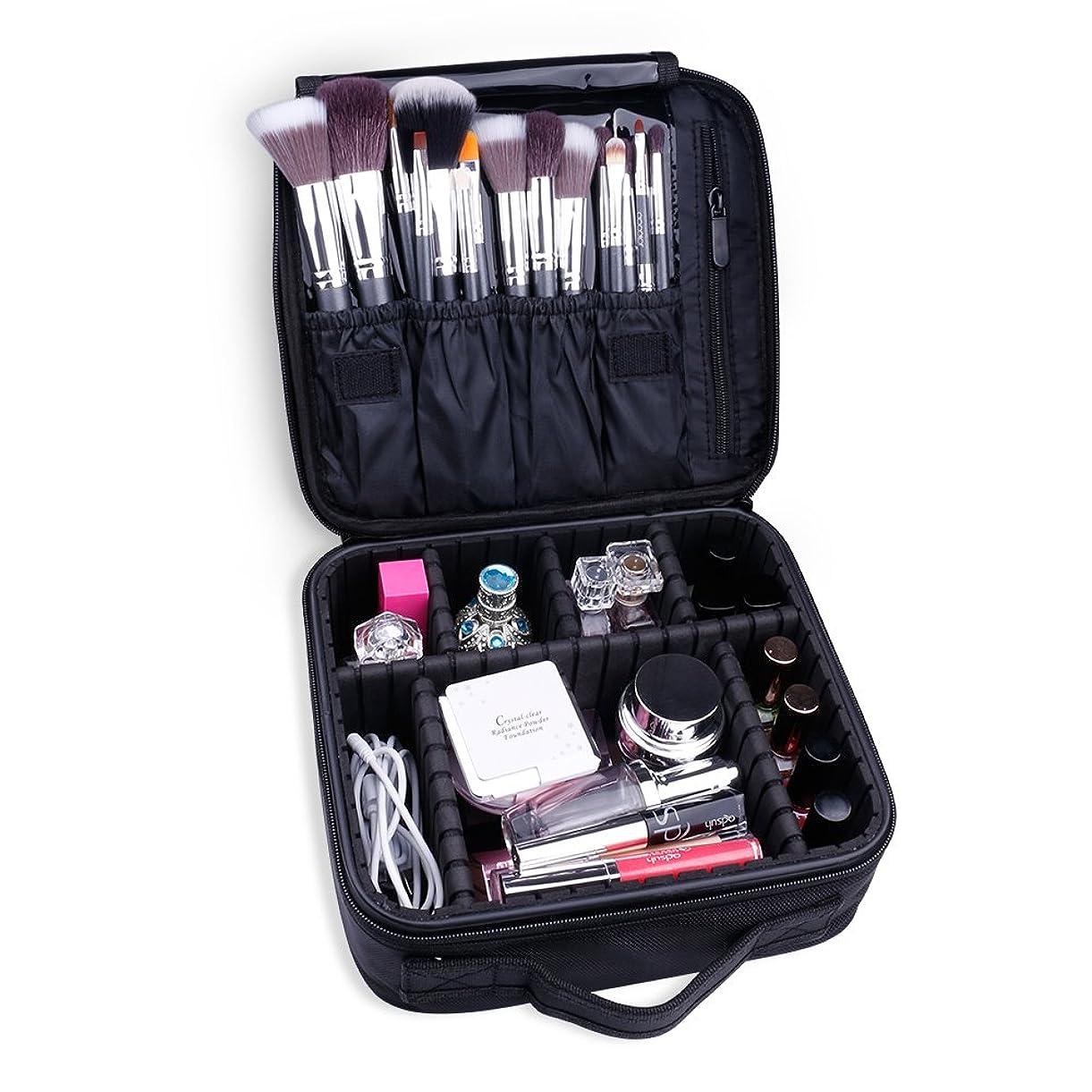 全体わずかに工場Docolor ドゥカラー 化粧ポーチ 高品質 多容量 化粧バッグ 多機能収納ケース