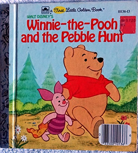 Winnie-the-Pooh and the Pebble Hunt (A First Little Golden Book)