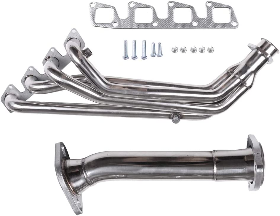 TUPARTS Exhaust System HDSNS13+DP Max 82% OFF Popular overseas Manifo Stainless Steel