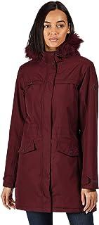 Regatta Serleena II Waterproof Taped Seams Insulated Lined Hooded Jacket with Security Pocket Mujer
