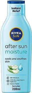 NIVEA SUN After Sun Moisturizing Sun Lotion, Aloe Vera & Avocado Oil, 200ml